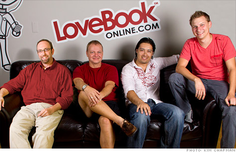 LoveBook® as seen on CNN Money - The LoveBook® Creators