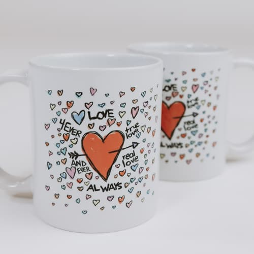 Sketchbook - Set of 2 Mugs