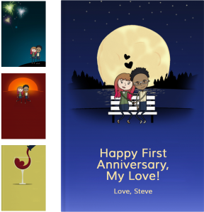 Personalized Anniversary Gifts - LoveBook Covers