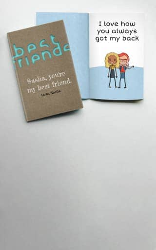 Personalized Best Friend Gifts By LoveBook