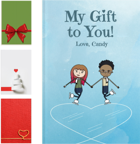 Personalized Romantic Gifts For Christmas - LoveBook Covers