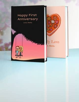First Anniversary Gifts By Lovebook The Personalized Gift Book