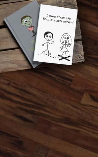 Personalized Long Distance Relationship Gifts by LoveBook