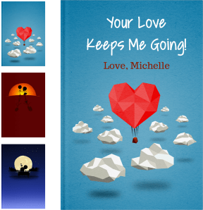 Personalized Long Distance Relationship Gifts - LoveBook Covers