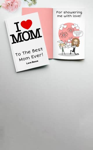 Personalized Mothers Day Gifts by LoveBook