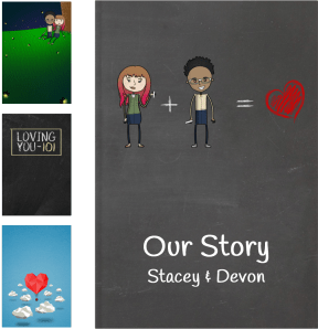 Our Love Story | The Unique Personalized Gift Book That Says