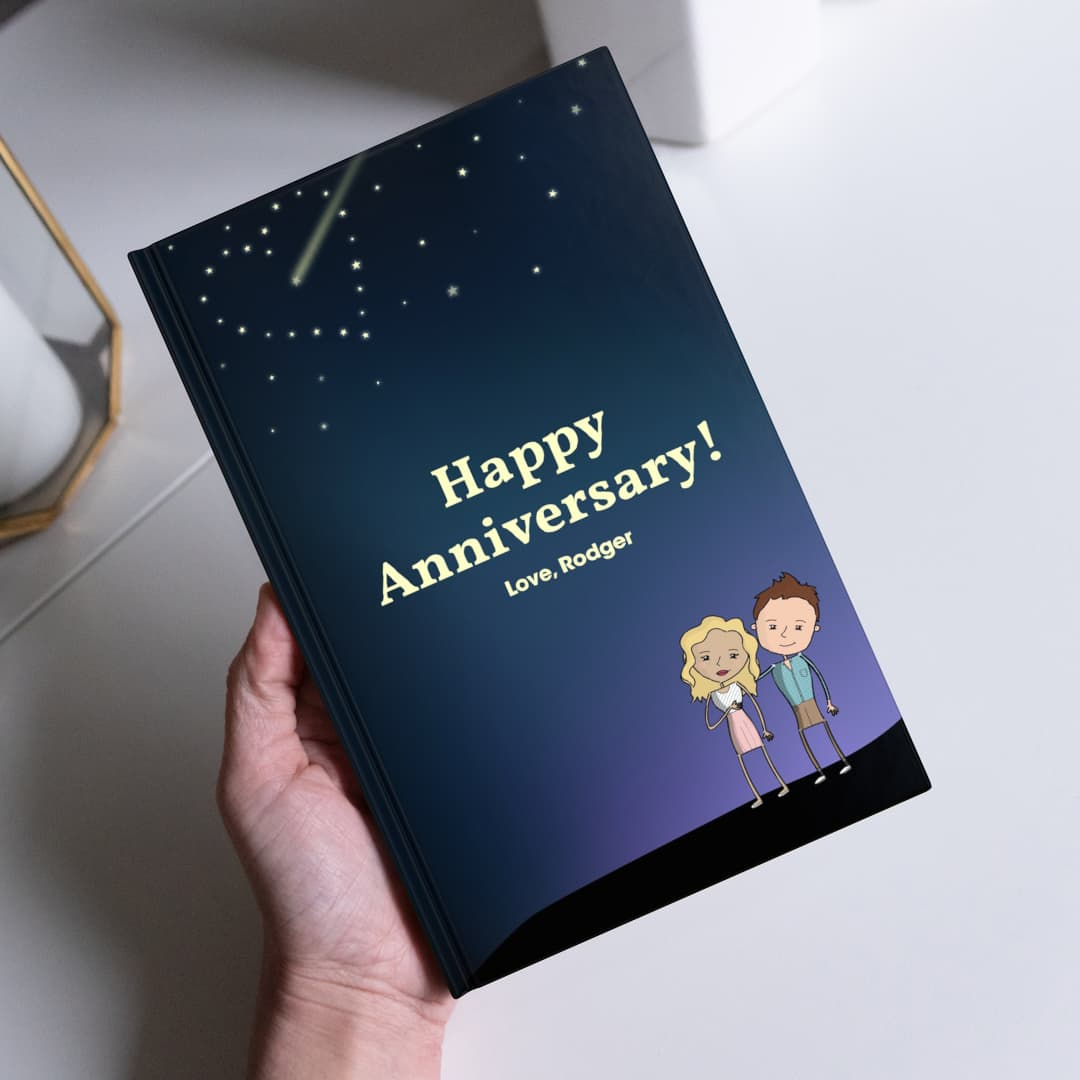 Anniversary Gifts by LoveBook | Personalized Gift Book That Says Why You Love Someone | LoveBook Online - 0