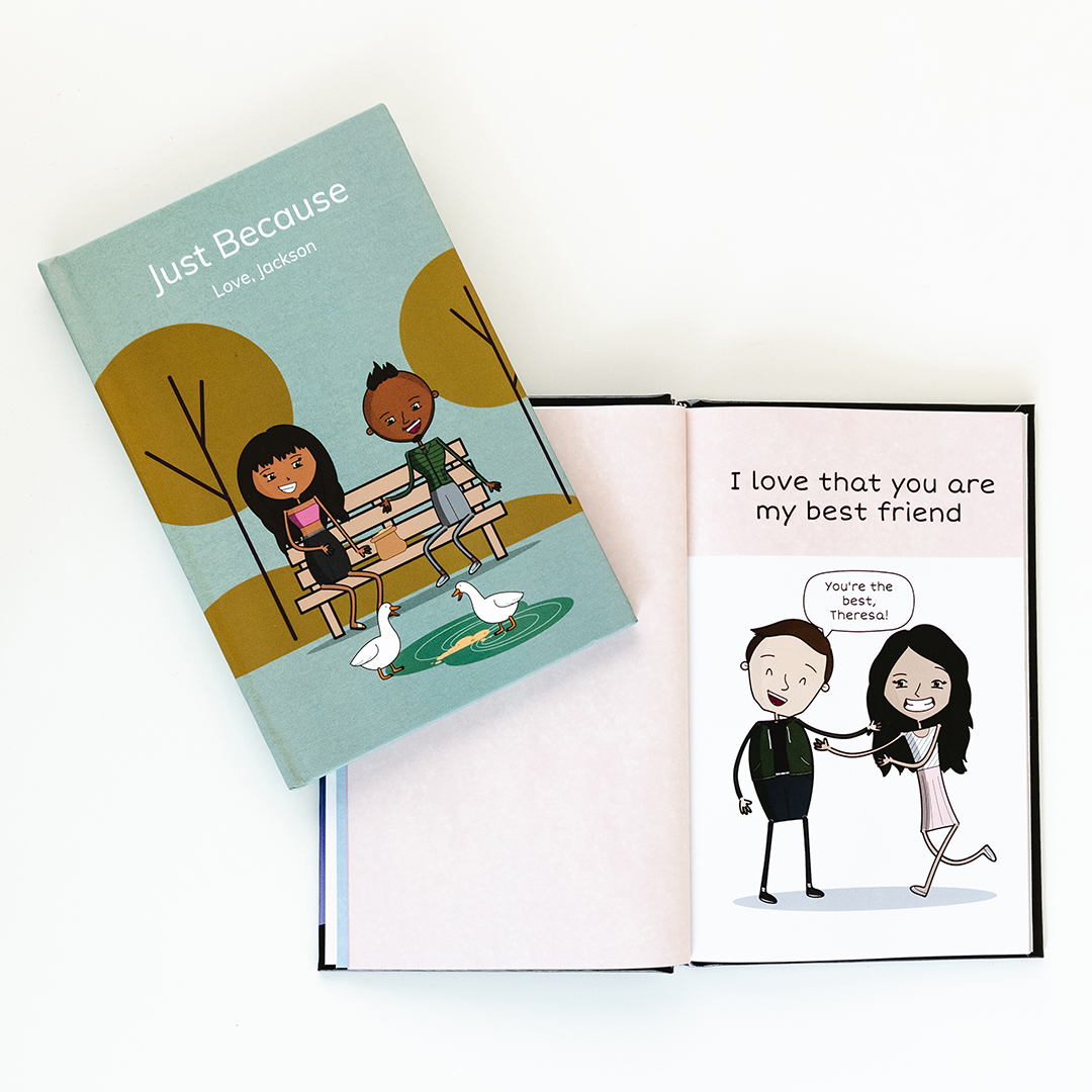 The Unique Personalized Gift Book That Says Why You Love Them | LoveBook Online - 0