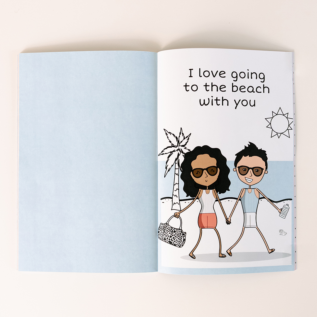 The Unique Personalized Gift Book That Says Why You Love Them | LoveBook Online - 1