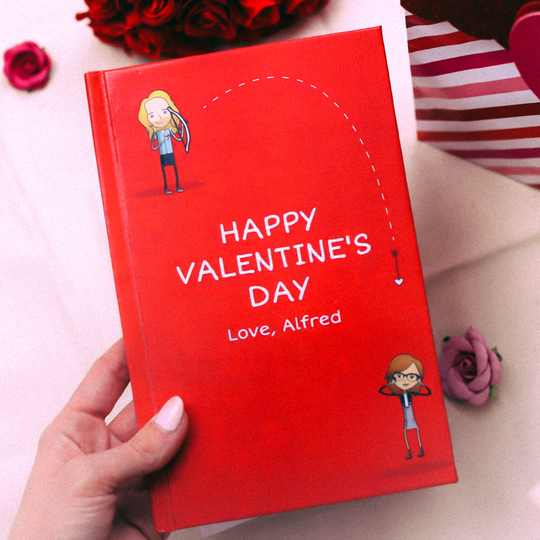 Valentine's Day Gifts by LoveBook | The Personalized Gift Book That Says Why You Love Someone | LoveBook Online - 0